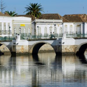 Tavira peaceful coastal town on the East Algarve.