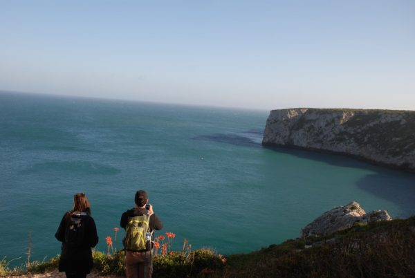 Walking West Algarve cliffs