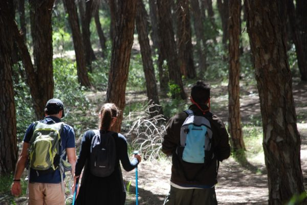 Walking with friends in the West Algarve