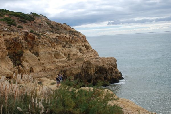 Walking in the cliffs