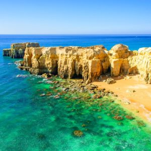 The different landscapes of the Central Algarve.