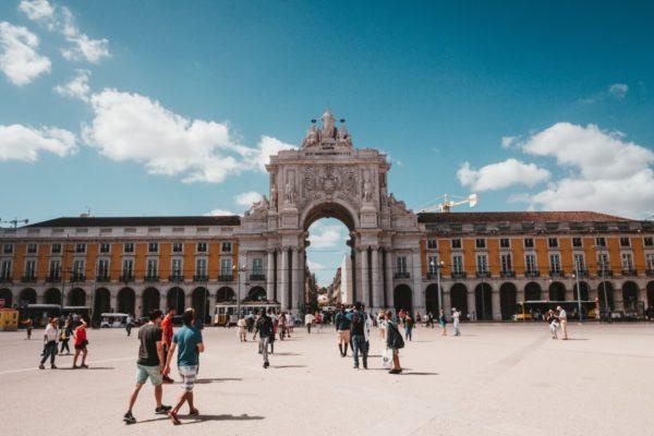 Comercio Square, Lisbon Portugal