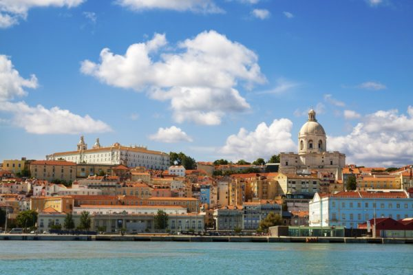 Lisbon, view from the river