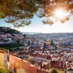 View from Miradouro da Graça Lisboa Portugal
