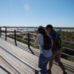 Walking in Cabanas along the Ria Formosa
