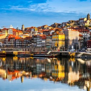 Porto - Rio Douro has a wonderful atmosphere.