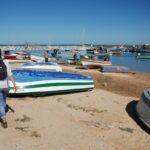 Typical fishing village in East Algarve walking holidays
