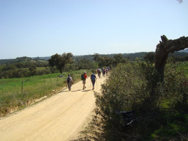 Alcoutim group walking
