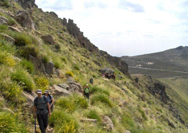 "Serra da Estrela Natural Park, the ""mountains of the stars"""
