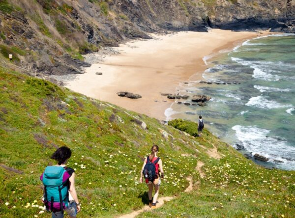 The Rota Vicentina is a long-distance path in SW Portugal