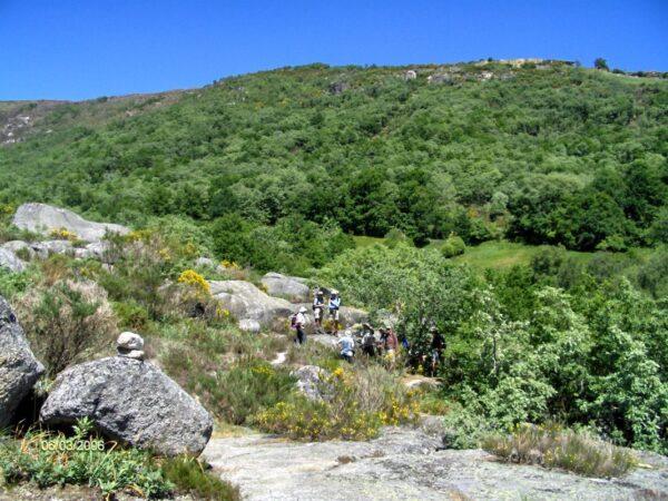 Walking group in Geres