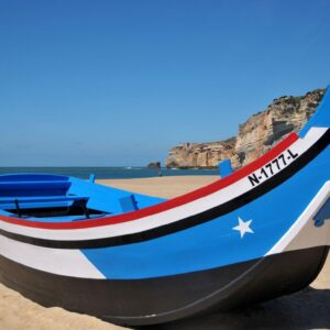 Nazare traditional Boat