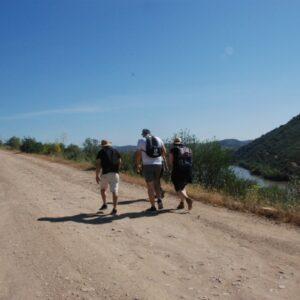 walking in Guadina Portugal