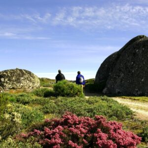 Serra da Estrela Natural Park, the mountains of the stars, the highest mountain in mainland Portugal