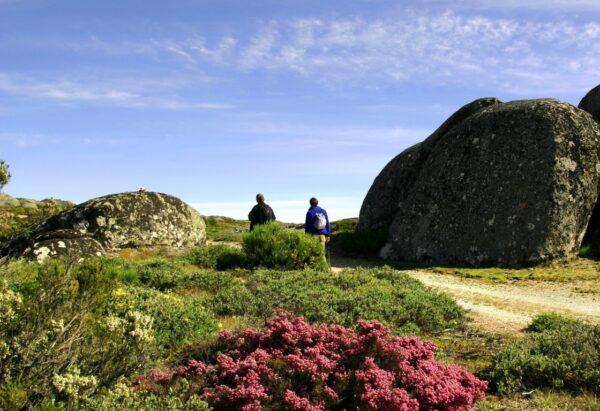 Serra da Estrela Natural Park, the mountains of the stars, the highest mountain in mainland Portugal