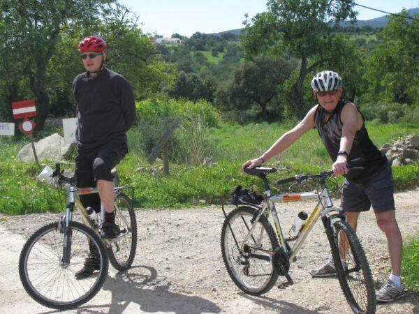 Cycle east algarve holidays